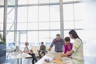 Creative business people meeting in office - HEROF04319