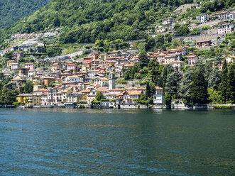 Italinen Lombardai, Comer See,  Lago di Como, Provinz Como, Blick auf Carate Urio - AMF06680