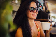 Woman at cafe - CUF46822