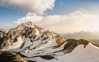 Sunny day, French Alps, Parc naturel régional du Massif des Bauges, Chatelard-en-Bauges, Rhone-Alpes, France - CUF46894
