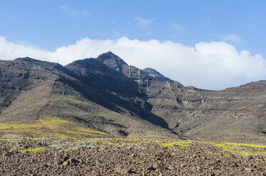 Spain, Canary Islands, Fuerteventura, mountainscape in the south of the island - RUNF00850