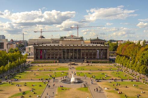 Lustgarten mit dem Alten Museum im Hintergrund - TAMF01109