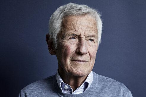 Portrait of pensive senior man - RBF06995