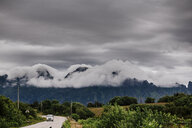 Clouds covering mountains - ASTF02094