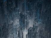 Skyscrapers, 3D Rendering - SPCF00327