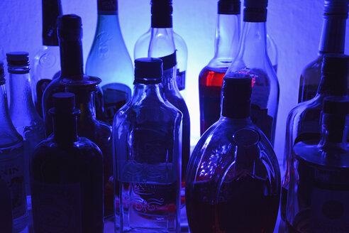 Variation of liqueur bottles - AX00810