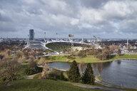 Germany, Munich, Olympic Park with Olympic Stadium - ELF02001