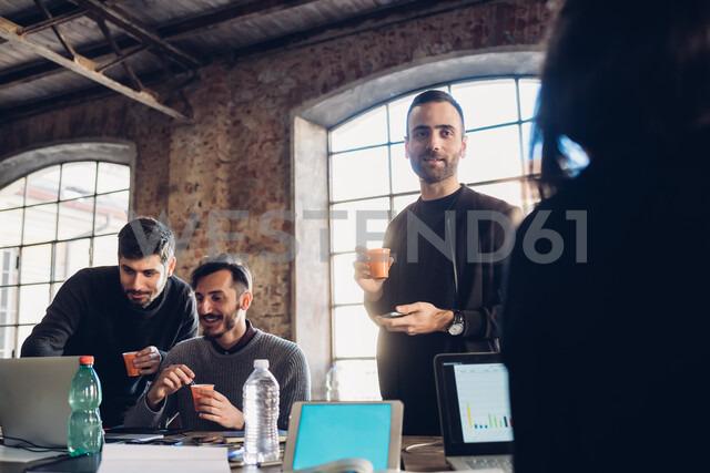 Designers brainstorming in studio - CUF47289 - Eugenio Marongiu/Westend61