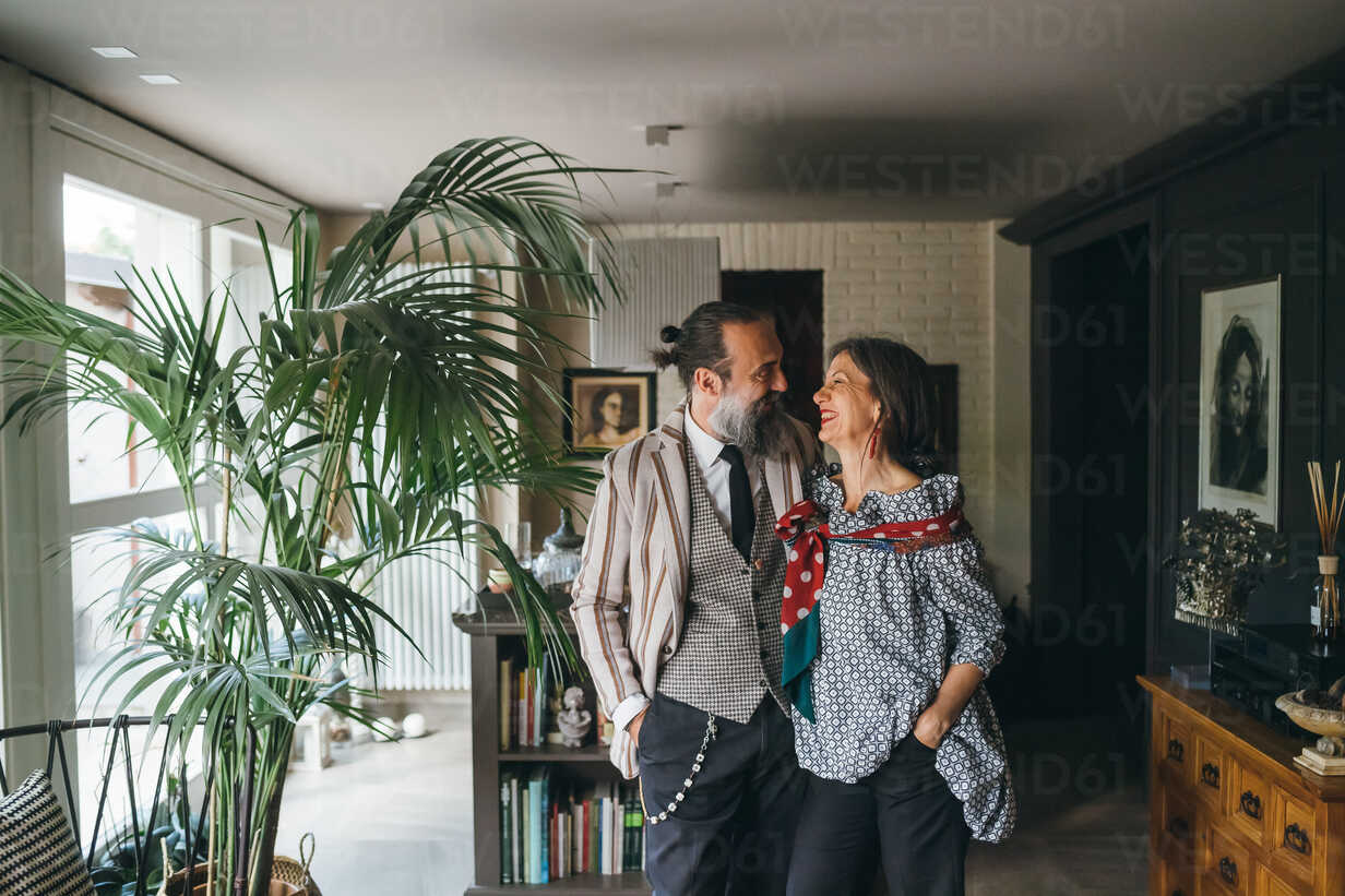 Couple in living room at home - CUF47316 - Eugenio Marongiu/Westend61