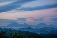 Virunga Mountains with its volcanoes, Uganda - CUF47640
