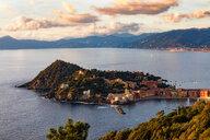 Aerial view of Sestri Levante, Liguria, Italy - CUF47706