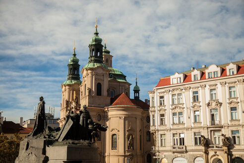 St. Nicholas Church, Old Town Square, Prague, Czech Republic - CUF47787