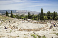 antikes Dionysostheater, UNESCO-Weltkulturerbe, Akropolis, Athen, Griechenland - MAM00335