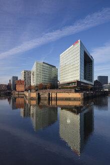 Germany, Hamburg, HafenCity, Ericusspitze, Spiegel publishing house - WI03727