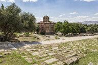 Griechisch-Orthodoxe Kirche, antike Agora, Athen, Griechenland - MAMF00358