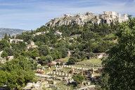Blick von antiker Agora auf Akropolis, Athen, Griechenland - MAMF00364