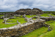 Iron age build Broch of Gurness, Orkney Islands, United Kingdom - RUNF00998