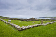 United Kingdom, Scotland, Orkney Islands, Mainland, Pictish fortress on the Brough of Birsay - RUNF01001