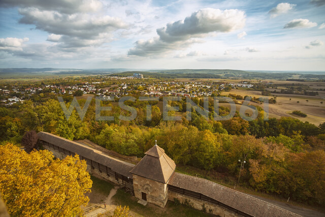 Germany, Bavaria, Bamberg, view from the Altenburg - TAMF01128