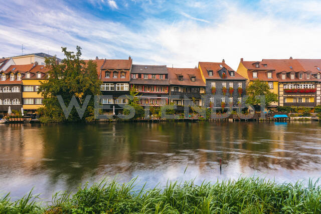 Germany, Bavaria, Bamberg, Little Venice and Regnitz river - TAMF01143 - A. Tamboly/Westend61