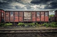 Abandoned train in Faringe, Sweden - FOLF10300