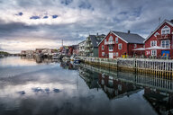 Harbor of Henningsvaer in Norway - FOLF10306