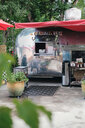 Vintage camper van food truck - ISF20271
