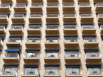 Italy, Naples, house facade - WWF04849
