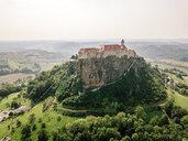 Austria, Styria, drone view of Riegersburg Castle - DAW00886