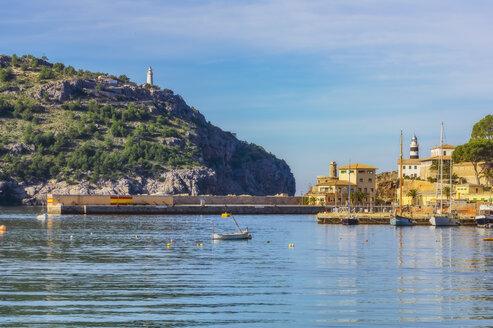 Spain, Mallorca, Port de Soller, harbour - THAF02441