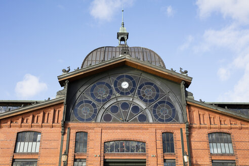 Deutschland, Hamburg, Altona, Fischmarkt, Fischauktionshalle - WIF03768