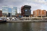 Germany, Hamburg, HafenCity, Sandtorhafen - WIF03774