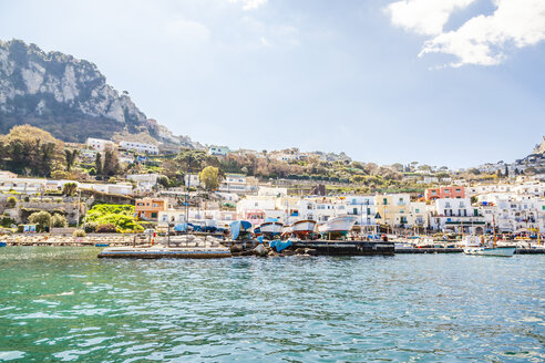 Italy, Campania, Gulf of Naples, Capri Island, Marina Grande - FLMF00085