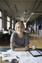 Portrait of confident creative businesswomen in office - HEROF07836