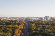 Germany, Berlin, view to Großer Tiergarten and Schoeneberg from Victory Column - GWF05821