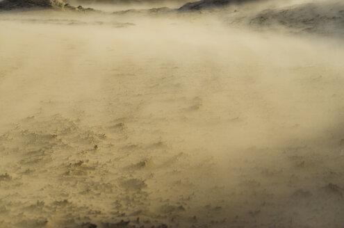 Netherlands, Goeree-Overflakkee, sandstorm in dunes - MHF00498