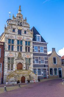 Netherlands, Zeeland, Schouwen-Duiveland, Brouwershaven, former townhall - MHF00501