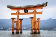 Itsukushima Shrine, a Shinto shrine on the island of Itsukushima, Miyajima, Japan. - MINF10091