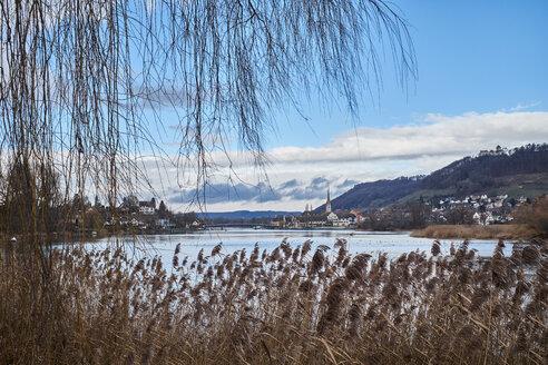 Switzerland, Stein am Rhein, Old town and Rhine river - ELF02006