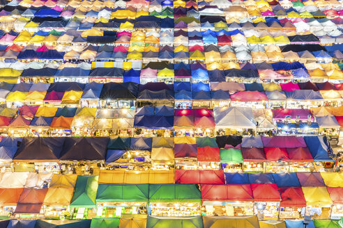 Thailand, Bangkok, Ratchada Rot Fai Night Market - WPEF01354