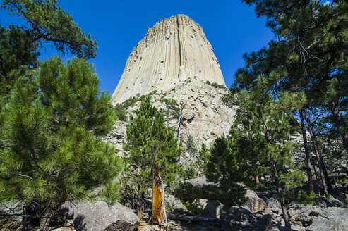 USA, Wyoming, Devils Tower National Monument - RUNF01045