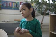 Focused, attentive preschool girl - HEROF15641