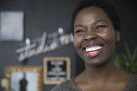 Portrait smiling, confident, enthusiastic woman - HEROF15896