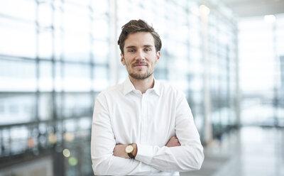 Portrait of confident young businessman - PNEF01230