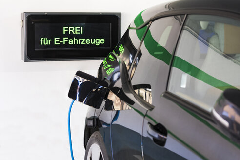 Charging station for an electric car - WDF05075