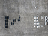 Indonesia, Bali, Aerial view of car park - KNTF02630