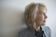 Thoughtful, forward thinking senior businesswoman - HEROF20399