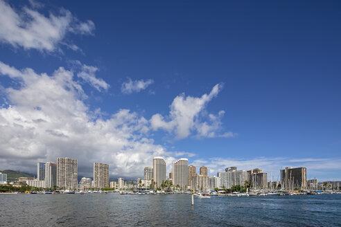 USA, Hawaii, Oahu, Honolulu, Skyline - FOF10328