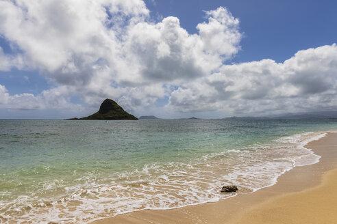 USA, Hawaii, Oahu, Kualoa Point, Mokoli'i Island - FOF10345