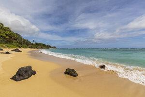 USA, Hawaii, Oahu, Ka'O'lo Point, beach - FOF10354